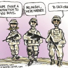 The politically correct military